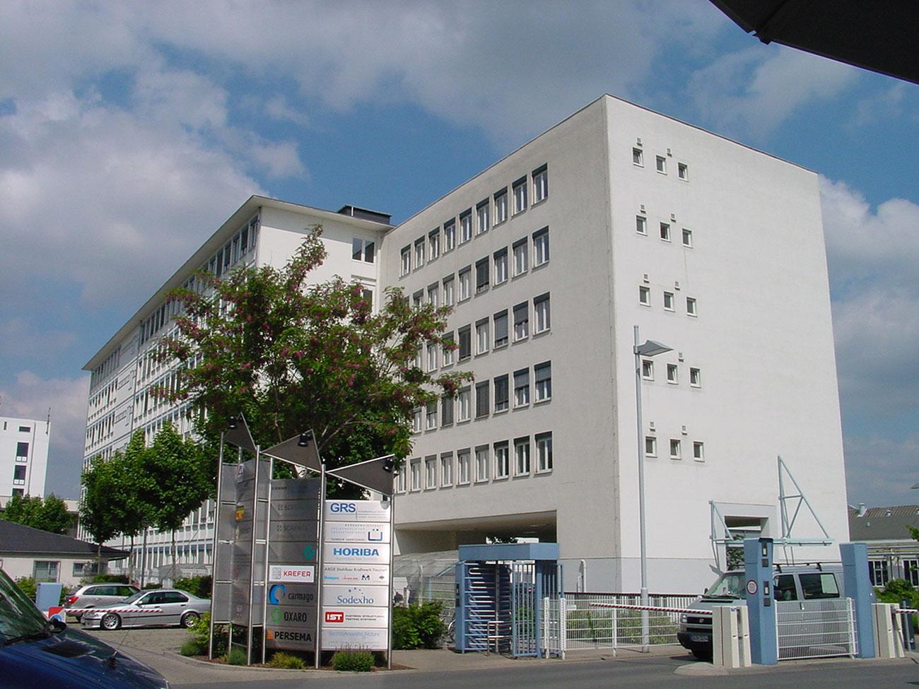 Standort Darmstadt Außenansicht