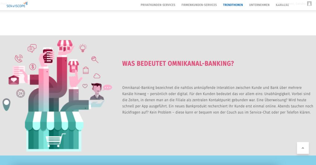Omnikanal-Banking
